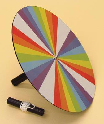 "Newton's Color Wheel | 9"" Diameter Wheel 