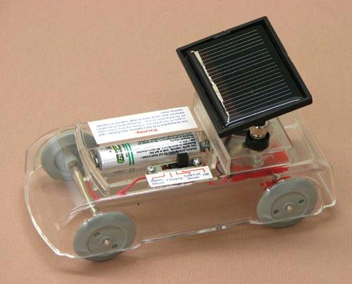 "Solar Car | Demonstrates How Solar Energy Works | 5"" x 2.75"" x 3"""