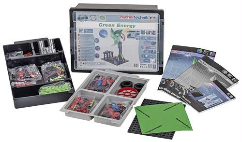 Green Energy Kit | 380 Piece Set | Two Students Per Kit