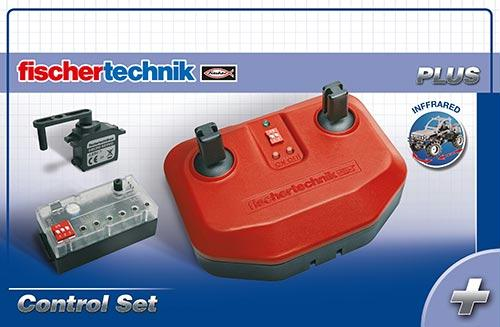 Fishertechnik Control Set | Four Channel Infrared Remote