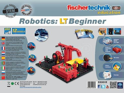 Robotics Beginner (LT) Kit | For Ages 8+ | 200+ Components