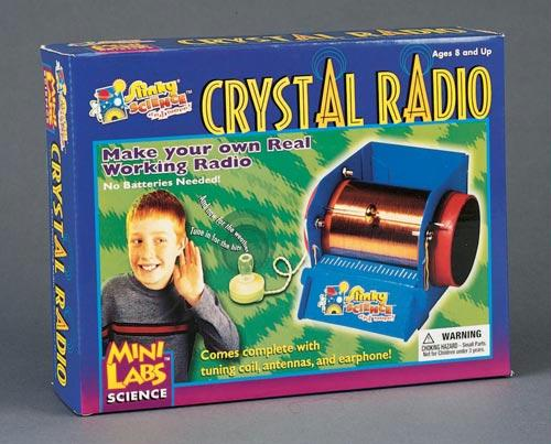 Crystal Radio Kit | Build A Working Radio | Ages 8+