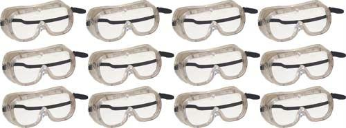 Ventilated Goggles | Soft Vinyl Frame  | High Quality Optics.