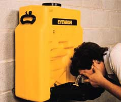 Gravity Fed Eyewash Station