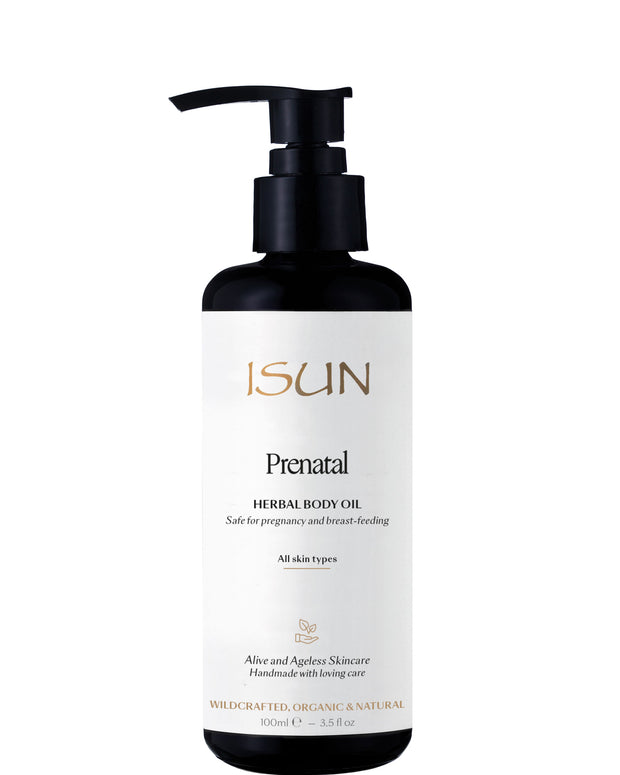 ISUN Skincare - Prenatal Herbal Body Oil