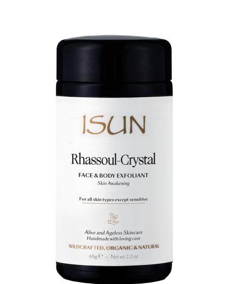 ISUN Skincare - Rhassoul-Crystal Face & Body Exfoliant