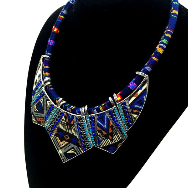 Collier Boho à Inspiration Africaine