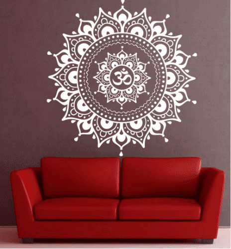 Sticker Mandala Grand Format pour Décoration Murale