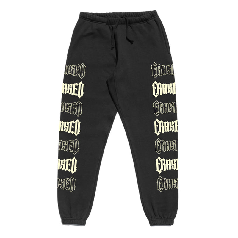 REPEAT LOGO SWEATS - BLACK