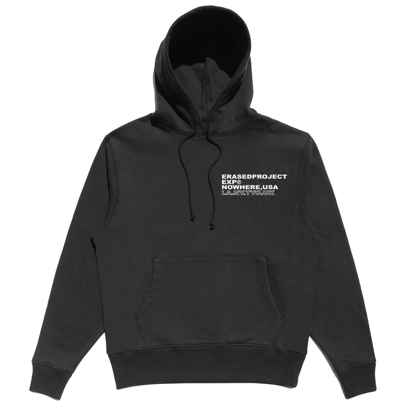 SYNDICATE PULL OVER HOODIE - BLACK