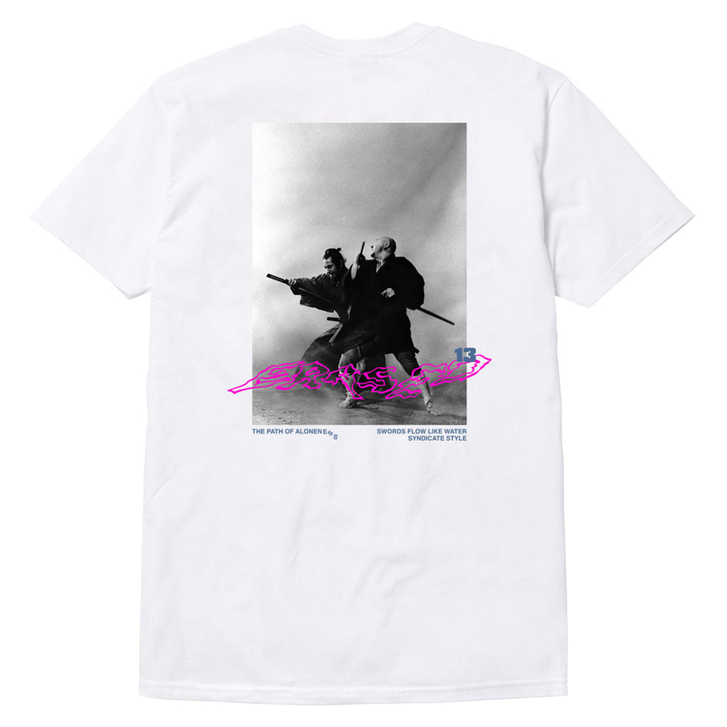 DANCING SWORDS TSHIRT (LIMITED RESTOCK) - WHITE