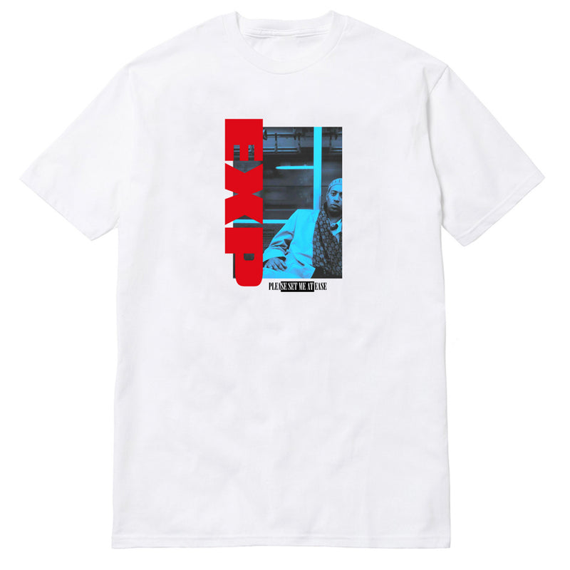 SHADES OF BLUE TSHIRT - WHITE