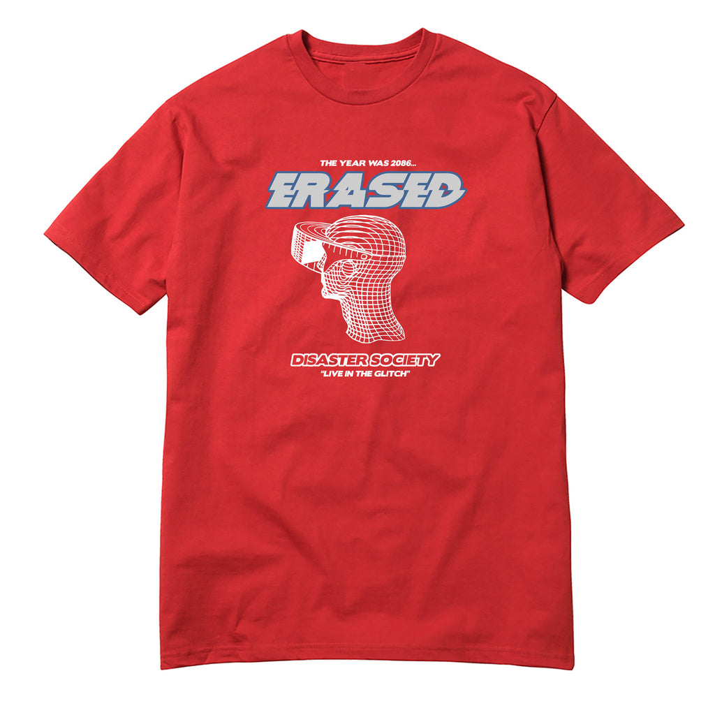 DISASTER SOCIETY TSHIRT - RED