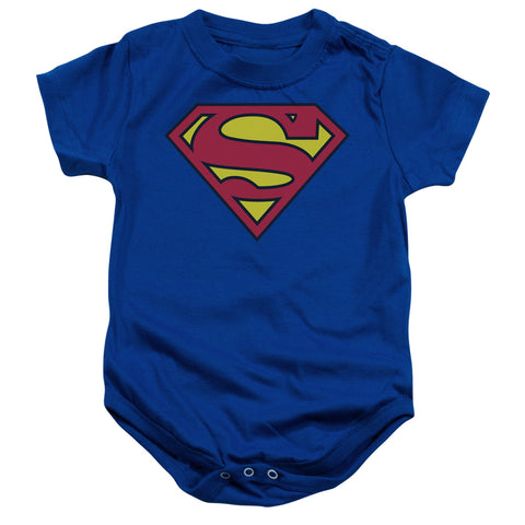 Superman - Classic Logo Infant Snapsuit