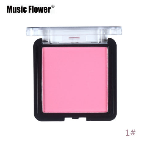 Face Powder Blush Bronzer & Highlighter Music Flower Brand Contour Mineralize Blusher Sleek Face Makeup Sheertone Blush Palette