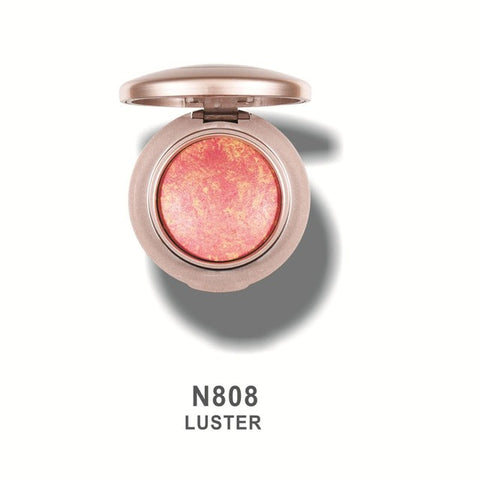 TOP Brand HERES B2UTY NEW Arrival 8 color Bronzer Powder Mineralize Baked Blush Palette Shimmer&Matte Bright Easy Wear Natural