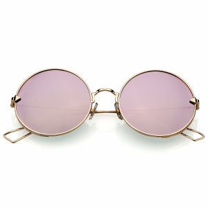 COLOSSEIN Fashion Brand Vintage Classic Women Sunglasses Square Metal Frame Mirror Polarized Lenses Elegant Beauty Glasses
