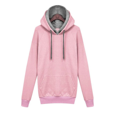 2017 Fashion Women Autumn Winter Hoodies Long Sleeve Pullover Loose Tops Casual Hooded New Women's Clothing