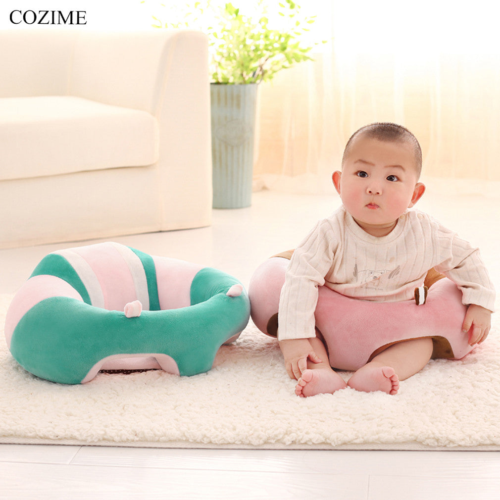 Cozime Infant Baby Support Seat Dining Chair Sofa Safety Cotton Plush Liva Girl