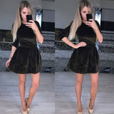 Lady Womens Bandage Bodycon Winter Dress Long Sleeve Brown Green Pink Burgundy 4 Colors Party Mini Dress vestidas kleid SY9