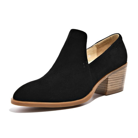 BeauToday Women Pumps Genuine Leather Cow Suede Slip On New Fashion Ladies Top Brand High Heel Shoes Handmade 15712