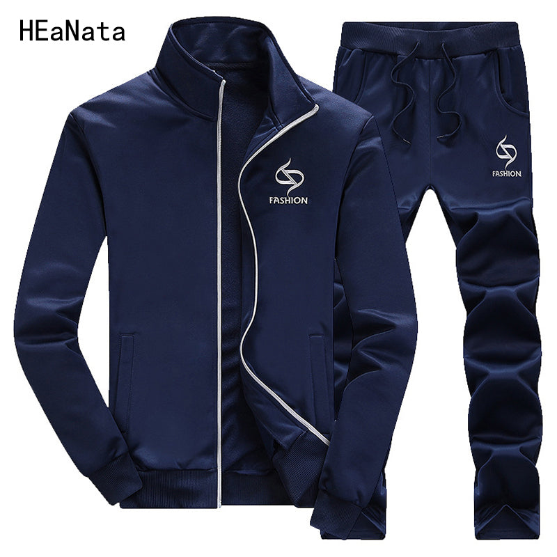 Sporting Suit Men Spring Tracksuits Men's Sets Hoodies+Pants Sweat Suit Outwear Fitness Casual Slim Fit  Brand Clothing for Male