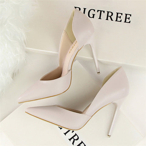 designer bigtree shoes wedding extreme high heels sapatos mulher scarpin tacones stiletto ladies pumps woman valentine shoes