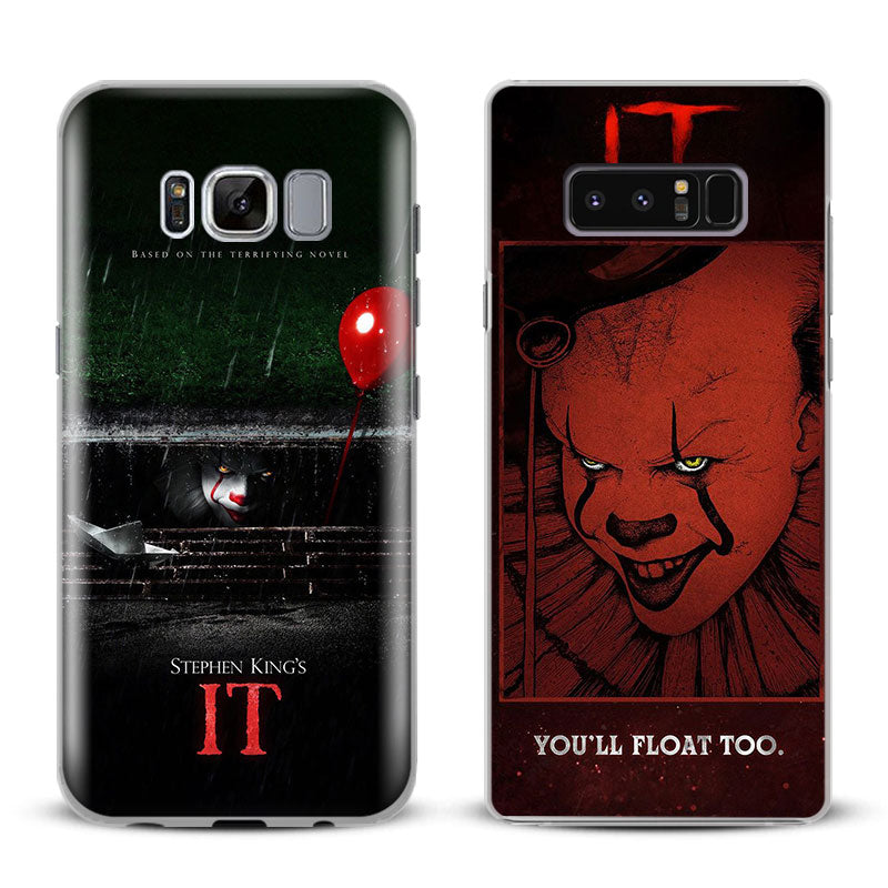 It Thriller Drama Film 2017 Phone Case Cover For Samsung Galaxy S4 S5 S6 S7 Edge S8 S9 Plus Note 8 2 3 4 5 A5 A7 J5 2016 J7 2017