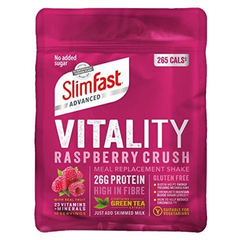 سليم فاست بديل وجبة 440 جرام-10 وجبات-SlimFast Vitality Meal Replacement 440g-10 Servings - UK2Gulf.com
