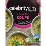سيليبرتي سليم 7 اكياس شوربة بدائل للوجبة-Celebrity Slim Assorted Flavour Soup-Pack of 7 - UK2Gulf.com