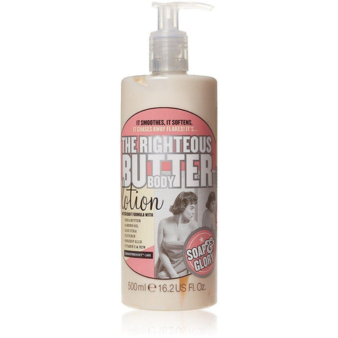 Soap & Glory The Righteous Butter Body Lotion 500ml - سوب اند جلورى لوشن مرطب للجسم - UK2Gulf.com