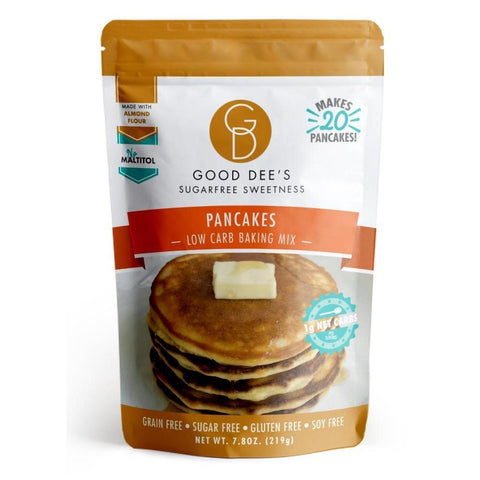 خليط عمل بان كيك مناسب للكيتو - Good Dee's Pancake Mix 219 Gm
