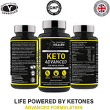 كيتو ادفانسد لنظام الكيتو 60 كبسولة - The Intelligent Health Keto Advanced 60 Capsules