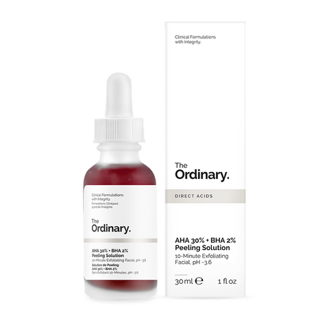 The Ordinary Peeling Solution 30ml AHA 30% + BHA 2% - مقشر ذا اورديناري بالاحماض