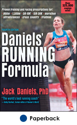 Sample running program from Daniels' Running Formula
