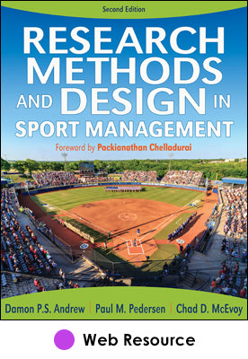Research Methods and Design in Sport Management Web Resource-2nd Edition