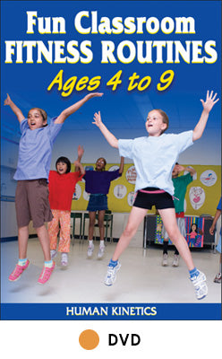 Fun Classroom Fitness Routines Ages 4 to 9 DVD
