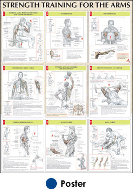 Strength Training for the Arms Poster