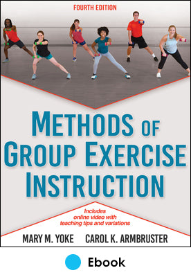 Methods of Group Exercise Instruction 4th Edition epub With Online Video