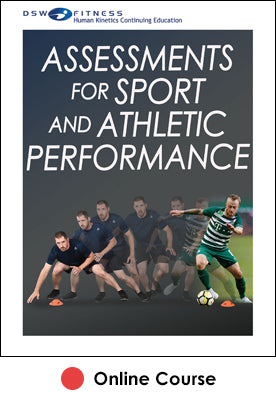 Assessments for Sport and Athletic Performance Ebook With CE Exam