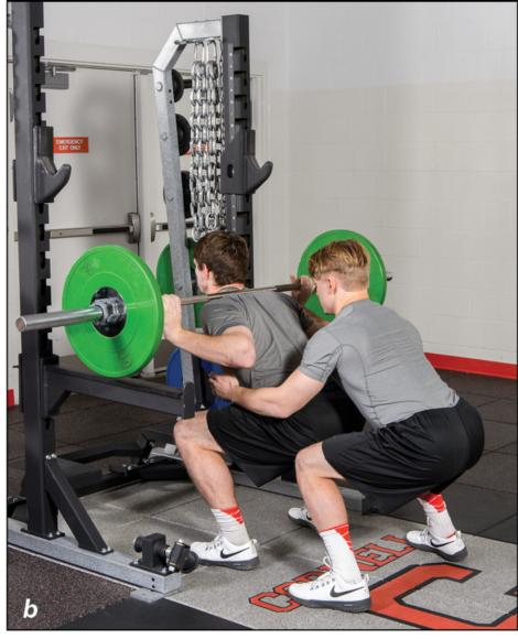 Figure 2.3 Back squat test.