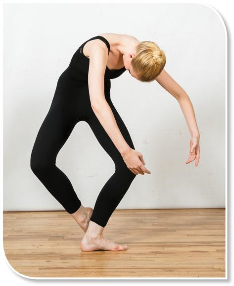 Dancers enhance the vestibular and proprioceptive systems when the head is not upright and vision is compromised.