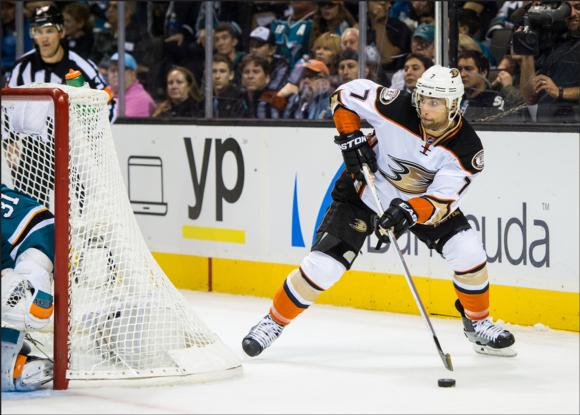 Andrew Cogliano is a speedy, effective two-way winger with the Anaheim Ducks who relies on practice to build confidence and sharpen skills.