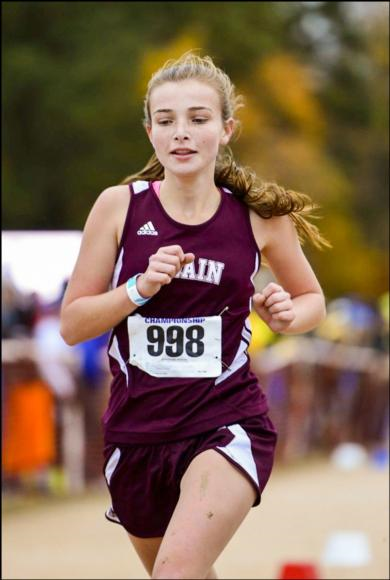 A flow experience helped Shelby Hyatt run the race of her life in the North Carolina state cross country meet.
