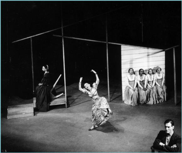 (1944), choreographed by Martha Graham and featuring Nina Fonaroff and Erick Hawkins.