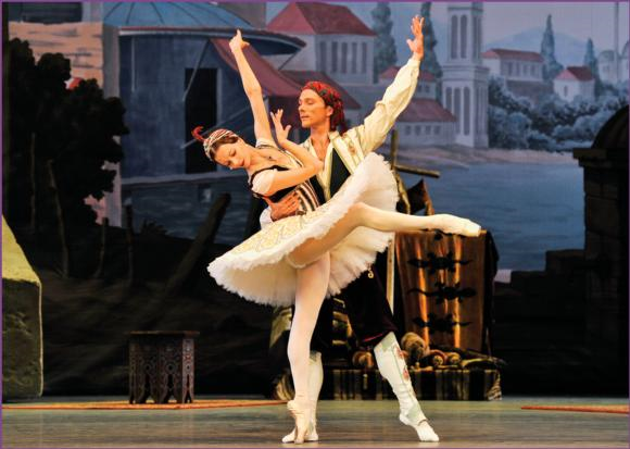 Alexei Ratmansky's new production of the classic ballet, .