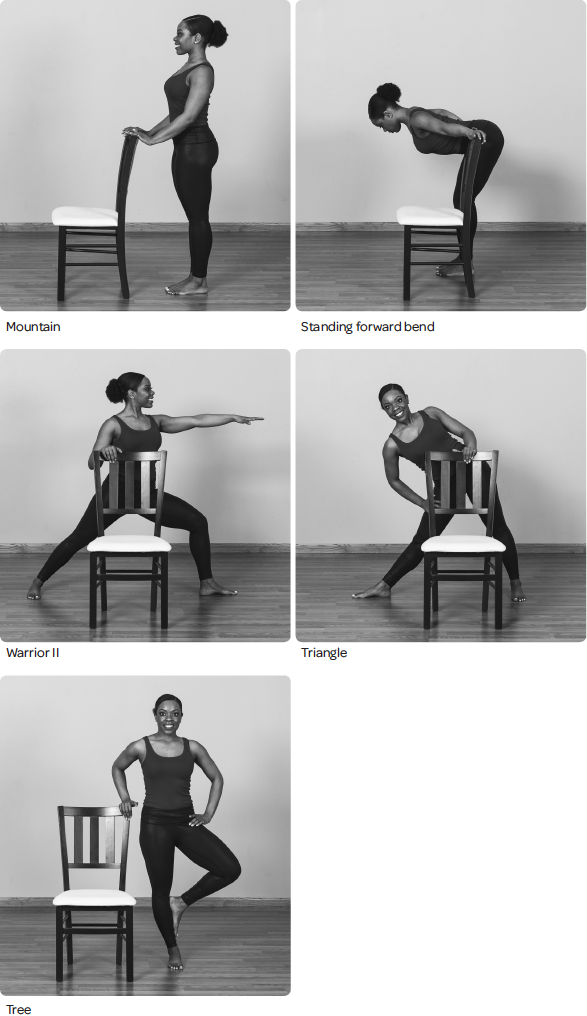 Standing poses