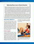 Sample Pages: Standard 3: Achieving Health-Enhancing Physical Activity and Fitness
