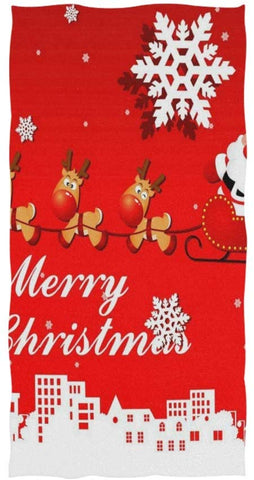 Pingshoes  Deer Christmas Towel Sets