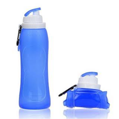 Aquabod Collapsible Silicone Water Bottle